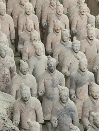 Terracotta Warriors Army, Pit Number 1, Xian, Shaanxi Province, China, Asia