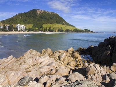 Main Beach in Mount Maunganui, Tauranga City, North Island, New Zealand, Pacific