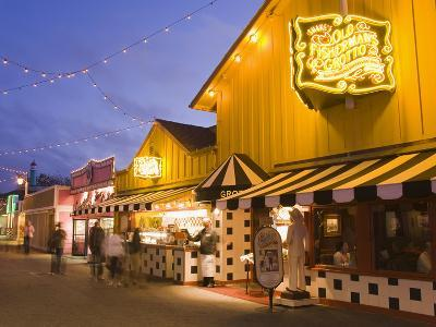 Old Fisherman's Grotto Restaurant on Fisherman's Wharf, Monterey, California, United States of Amer