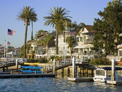 Bay Island in Balboa, Newport Beach, Orange County, California, United States of America, North Ame
