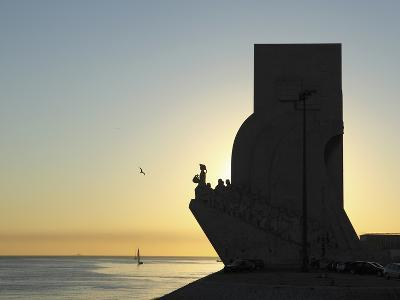 Sundown at the Monument to the Discoveries (Padrao Dos Descobrimentos) by the River Tagus (Rio Tejo
