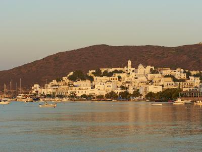 Town and Port, Adamas, Milos, Cyclades Islands, Greek Islands, Aegean Sea, Greece, Europe