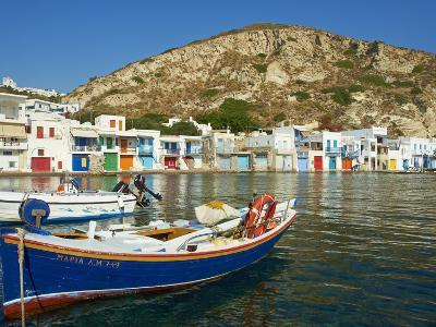 Klima, Old Fishing Village, Milos Island, Cyclades Islands, Greek Islands, Aegean Sea, Greece, Euro