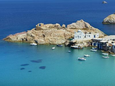 Firopotamos, Milos, Cyclades Islands, Greek Islands, Aegean Sea, Greece, Europe