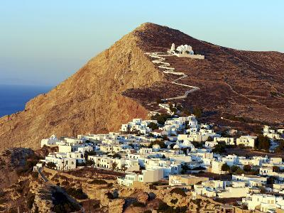Panagia Kimissis Monastery, Kastro, the Chora Village, Folegandros, Cyclades Islands, Greek Islands