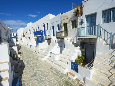 The Chora Village, Kastro, Folegandros, Cyclades Islands, Greek Islands, Greece, Europe,