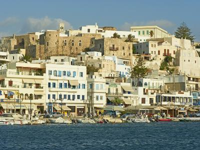 The Chora (Hora), Naxos, Cyclades Islands, Greek Islands, Aegean Sea, Greece, Europe