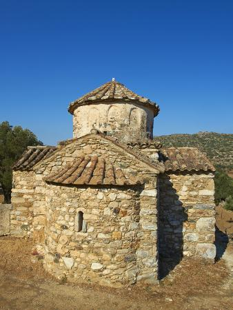 Agio Apostoli, Byzantine Church, Naxos, Cyclades Islands, Greek Islands, Greece, Europe