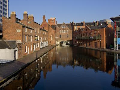 Canal Area, Birmingham, Midlands, England, United Kingdom, Europe