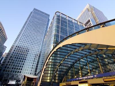 Canary Wharf Station, Isle of Dogs, Docklands, London, England, United Kingdom, Europe