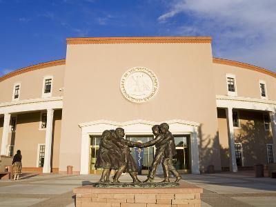 State Capitol Building, Santa Fe, New Mexico, United States of America, North America