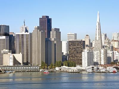 Downtown City Skyline, San Francisco, California, United States of America, North America