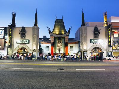 Grauman's Chinese Theatre, Hollywood Boulevard, Los Angeles, California, United States of America,