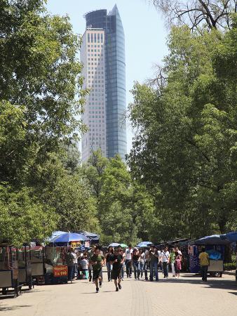Chapultepec Park (Bosque De Chapultepec), Chapultepec, Mexico City, Mexico, North America