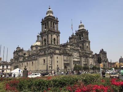 Metropolitan Cathedral, the Largest Church in Latin America, Zocalo, Plaza De La Constitucion, Mexi