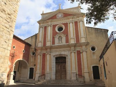 Church of the Immaculate Conception, Old Town, Vieil Antibes, Antibes, Cote D'Azur, French Riviera,