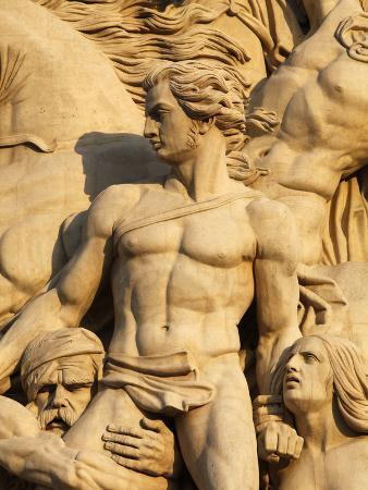 The Resistance by Antoine Etex, Dating from 1814, Sculpture on the Arc De Triomphe, Paris, France,