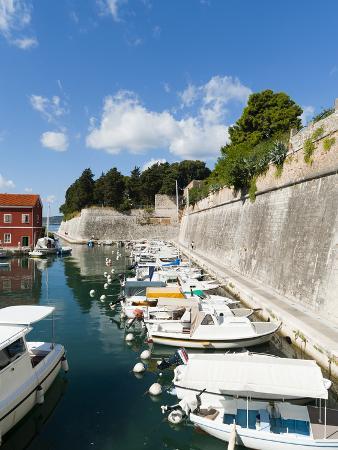The Fosa, One of the Small Ports of Zadar, Zadar County, Dalmatia Region, Croatia, Europe