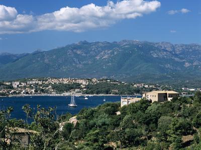View over Golfe De Porto Vecchio, Porto Vecchio, South East Corsica, Corsica, France, Mediterranean