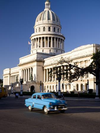 Capitolio, Central Havana, Cuba, West Indies, Central America