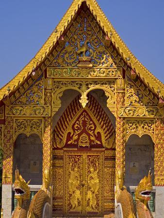 Wat Phan Tao, Chiang Mai, Chiang Mai Province, Thailand, Southeast Asia, Asia