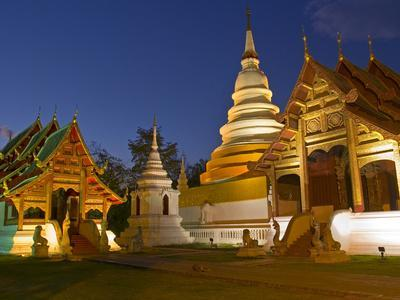 Wat Phra Singh Temple, Chiang Mai, Chiang Mai Province, Thailand, Southeast Asia, Asia