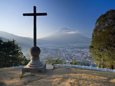 Mirador De La Cruz, Antigua, Guatemala, Central America