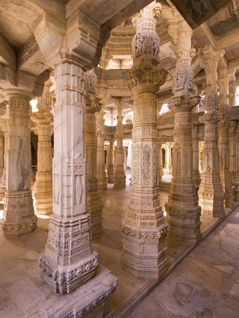 Chaumukha Temple, Ranakpur, Rajasthan, India, Asia