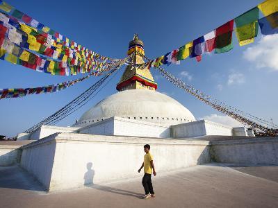 Bodhnath Stupa (Boudhanth) (Boudha) One of the Holiest Buddhist Sites in Kathmandu, UNESCO World He