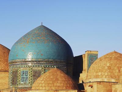 Necropolis in Central, Part of the Shah-I-Zinda Mausoleum, Shah-I-Zinda, Samarkand, Uzbekistan