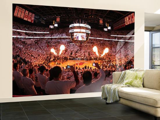 nba room decor.htm miami  fl june 21 an overall of american airlines arena wall  an overall of american airlines arena