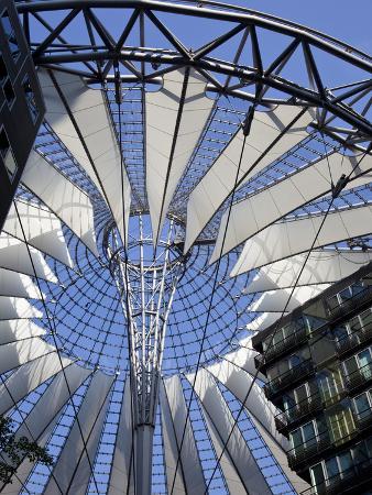 Sony Center, Potsdammer Platz, Berlin, Germany