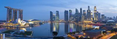 Central Business District and Marina Bay Sands Hotel, Singapore