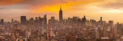 Empire State Building and Midtown Skyline, Manhattan, New York City, USA