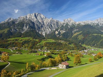 Leogang in Pinzgau, Salzburger Land, Austria
