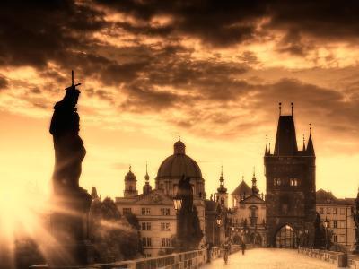 Czech Republic, Prague, Stare Mesto (Old Town), Charles Bridge