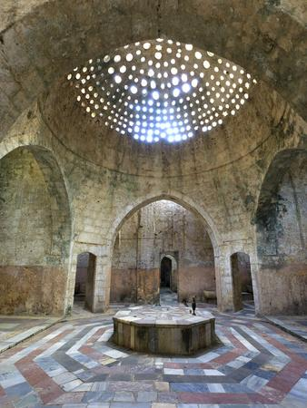 Lebanon, Tripoli, Old Town, El Jadid Hamam (Bath)