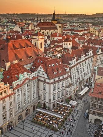 Europe, Czech Republic, Central Bohemia Region, Prague, Prague Old Town Square