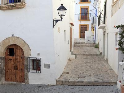 Spain, Balearic Islands, Ibiza, Ibiza Old Town (UNESCO Site), Dalt Vila