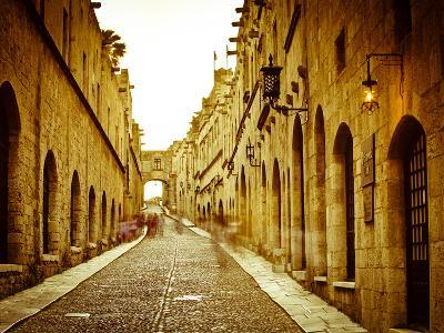 Avenue of the Knights (Ippoton Street), Rhodes Town, Rhodes, Greece