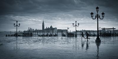Piazza San Marco Looking across to San Giorgio Maggiore, Venice, Italy