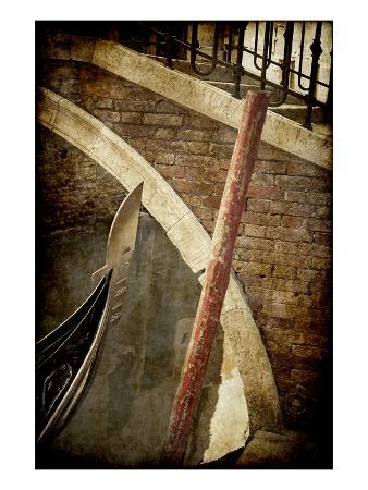 Gondola and Bridge, Venice, Italy