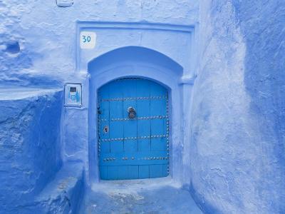 Narrow Lane, Chefchaouen, Morocco