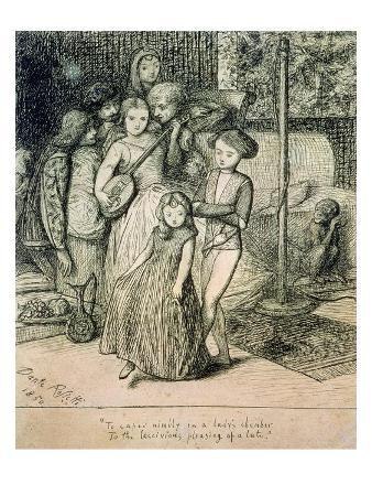 To Caper Nimbly in a Lady's Chamber to the Lascivious Pleasing of a Lute, 1850