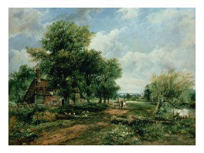 River Landscape, 19th Century