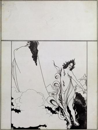 Fourth Tableau of Das Rheingold, (Cover Design for Savoy No. 6)