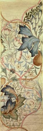 Original Design for the Artichoke Embroidery by Morris, C.1875