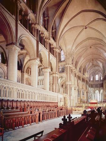 View of the Choir, Built 1098-1130 (Photo)