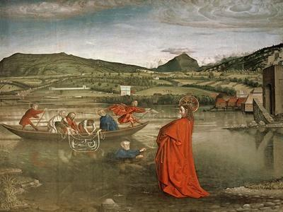 Miraculous Draught of Fishes, from the Altarpiece of Cardinal Francois De Mies, C.1444