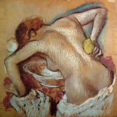 Woman at Her Toilet, C.1894 (Pastel)